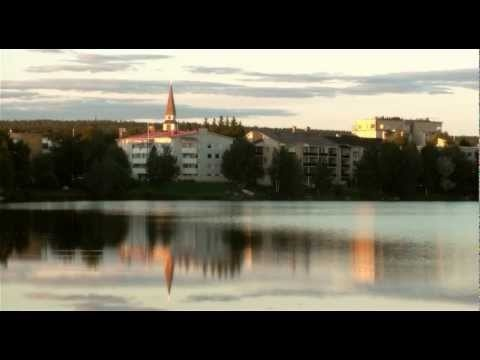Summer of Rovaniemi in Lapland in Finland