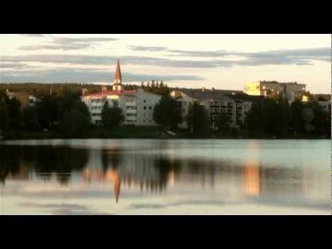 Summer of Rovaniemi in Lapland in Finland