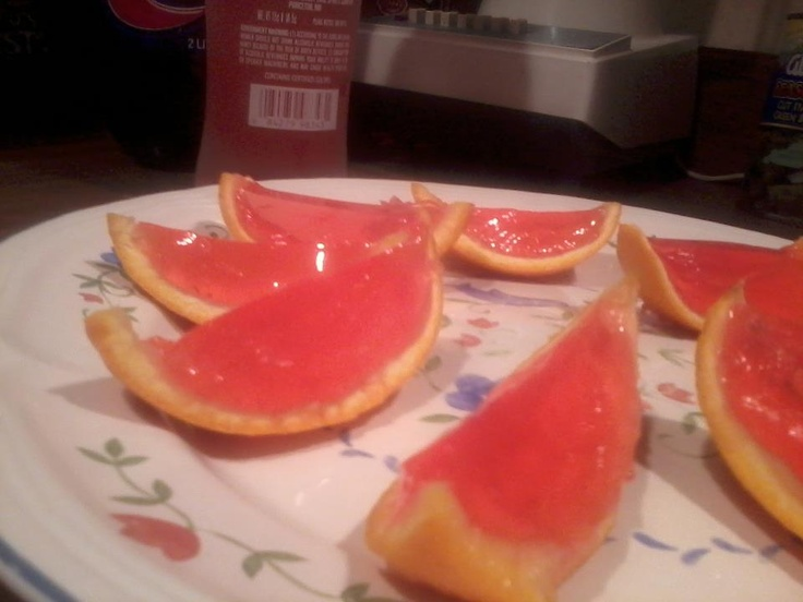 Kinky Liqueur Jello Shots made by one of our Facebook Fans!