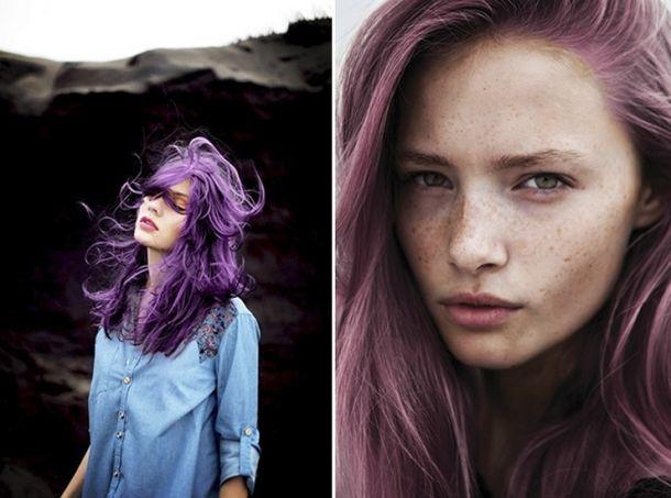 цветная прядь волос фиолетовая - Поиск в Google