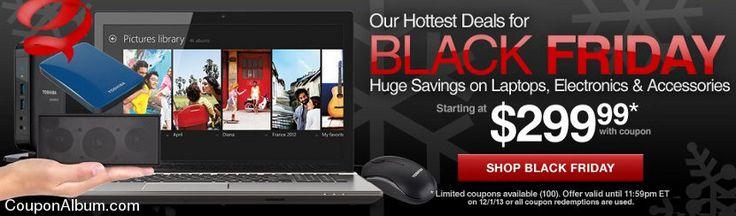 Toshiba Black Friday Laptop deals!