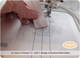 machine embroidery projects | Tips and Techniques by Nancy Zieman for Designs in Machine Embroidery