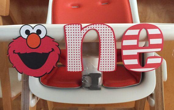 Elmo First Birthday Cake Smash by CraftyCathy83 on Etsy
