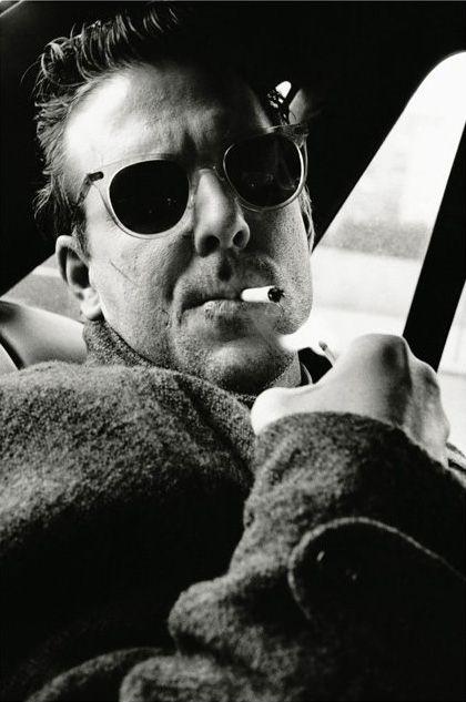 Mickey Rourke by Helmut Newton