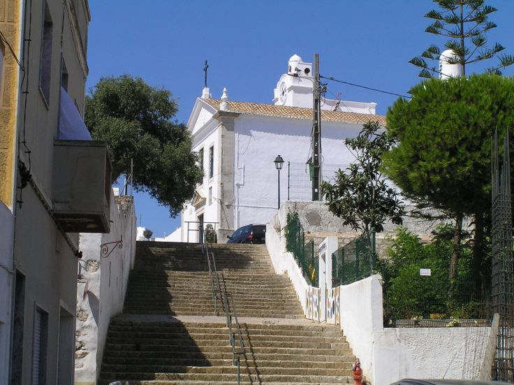 Bed and Breakfast Villa Laguna Algarve   De kerk van Fuseta