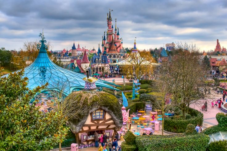 fantasyland__disneyland_paris. Thanks Tripelio, I would love to go here when next in Paris.