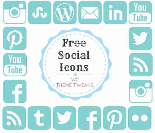 Social media icons, Icons and Icon set on Pinterest
