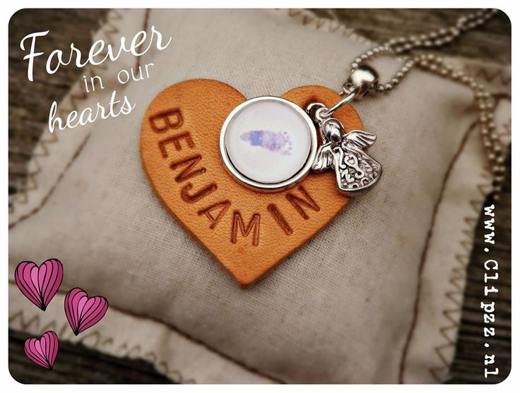 # Heart necklace #  www.clipzz.nl