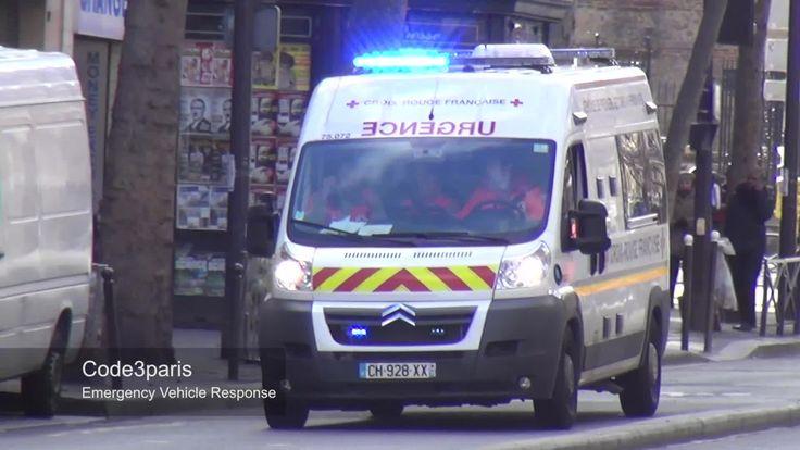Ambulance de la Croix Rouge Française // French Red Cross Ambulance (+af...