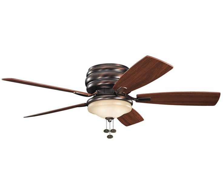 With A Oil Brushed Bronze Finish And Citrine Glass, This Fan Is A Wonderful  Addition