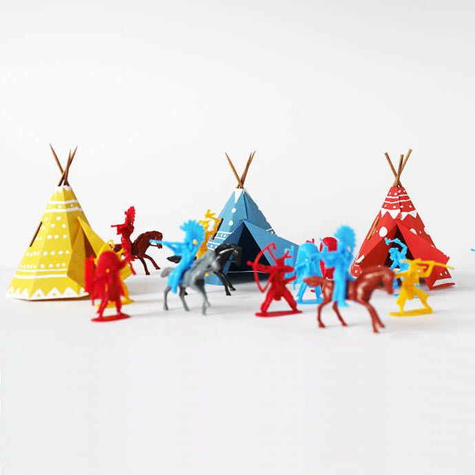 fabriquer un tipi en papier activt s avec les enfants. Black Bedroom Furniture Sets. Home Design Ideas