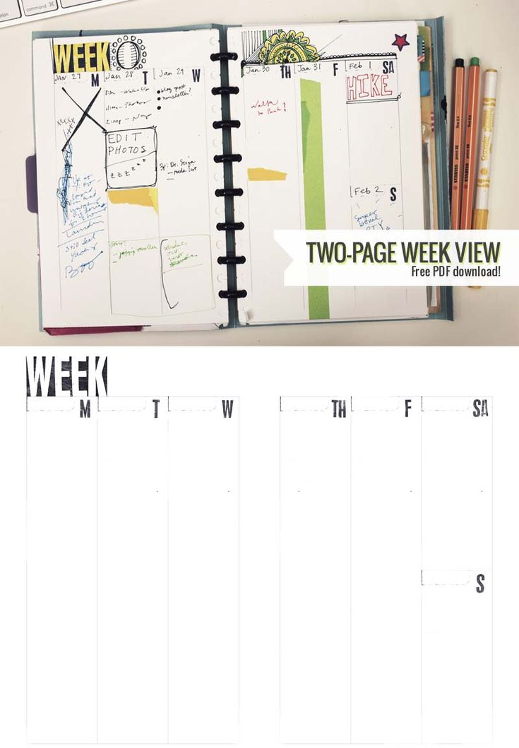 60 Best Printable Planner Pages Images On Pinterest | Planner
