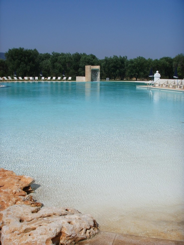 Masseria RELAIS DEL CARDINALE, Fasano , #italy by Antonio Cioffi #architecture #swimmingpool #cottage #country #resort #hotel