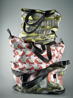 Victoria Verbaan & the smoking daxi bags featured in Wallpaper* Magazine, UK