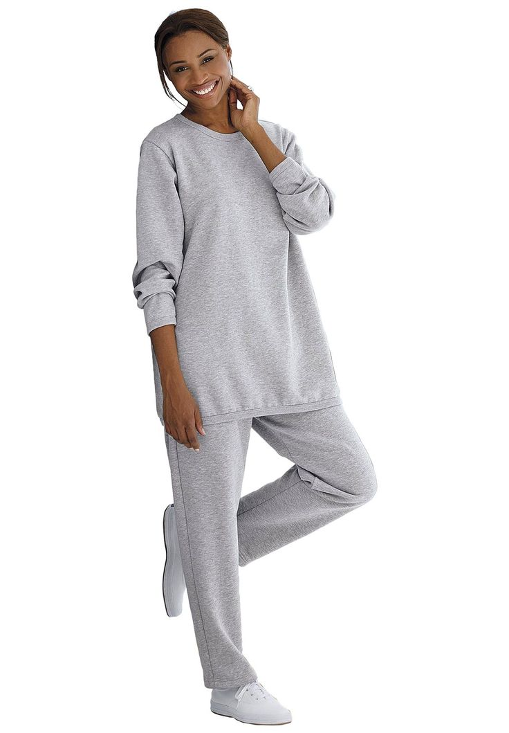 This Plus Size Fleece Pants Set Is A Fall And Winter Essential One Of Our Biggest Sellers For