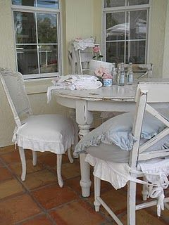 17 Best Images About Shabby Chair Covers On Pinterest