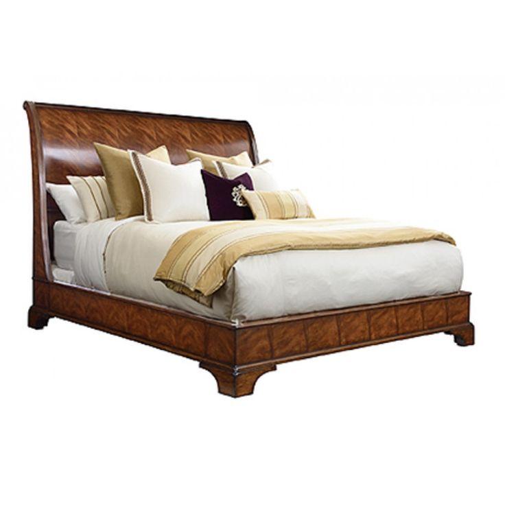 Beautiful Thomasville Sleigh Bed  Ideas