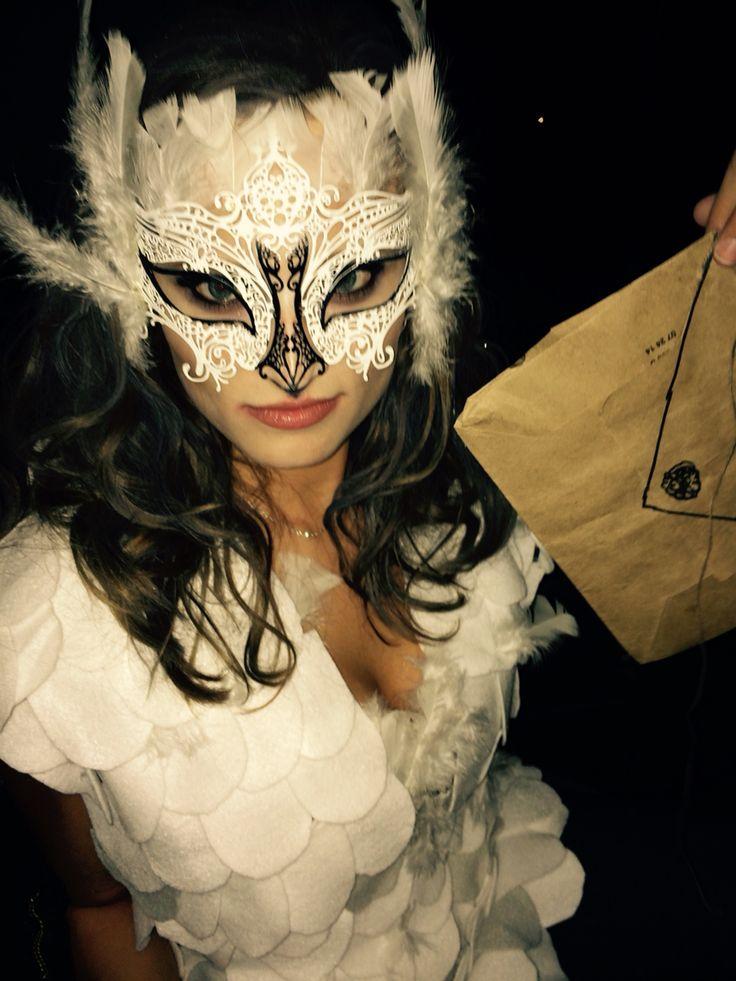 DIY Hedwig the Owl Halloween costume                                                                                                                                                                                 More