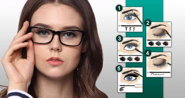 Wie schminke ich mich mit Weitsichtigkeit? - In 5 Schritten zum perfekten Make Up für Brillenträgerinnen