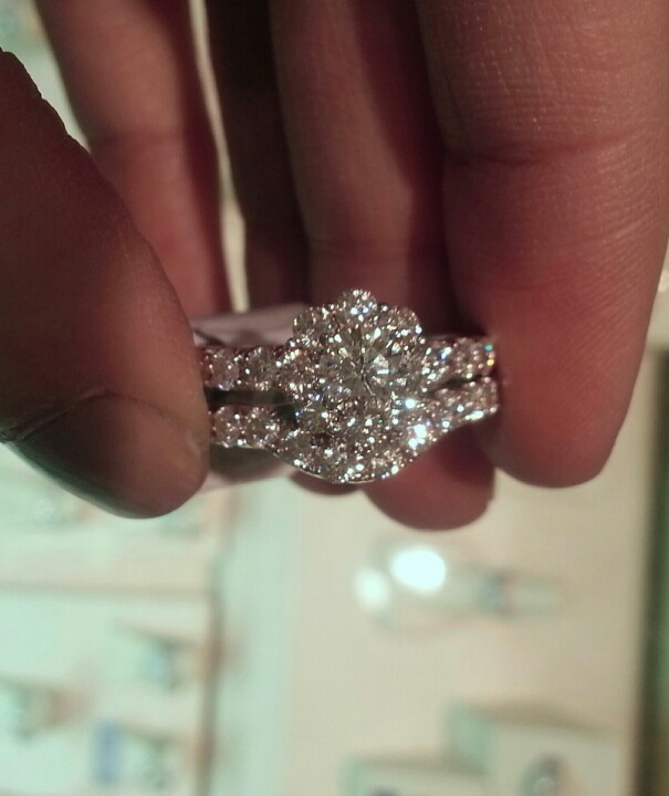 leo 2 ct bridal set from kay jewelers - Kay Jewelers Wedding Ring Sets
