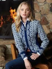 Cardigan/jacket CHRISTIANIA blue