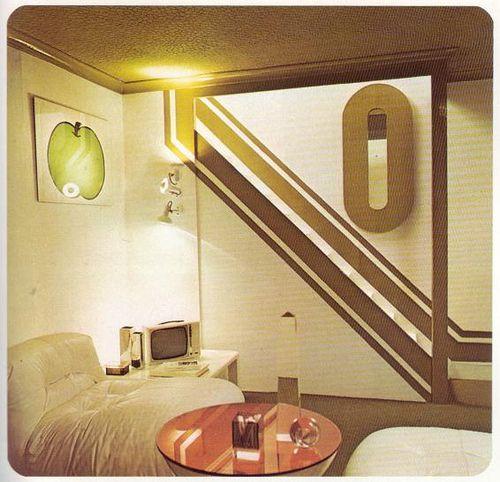 Retro 70s Room By Beautiful Rodney Via Flickr Futuristic InteriorFuturistic DesignArt Deco
