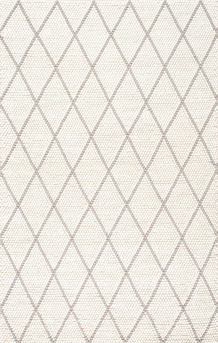 Windom Handmade Diamond Trellis Rug
