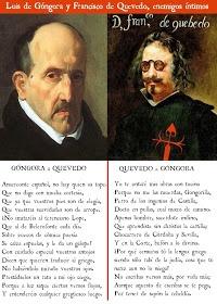 mundimanchuela: Sonetos de Luis de Góngora y francisco de Quevedo
