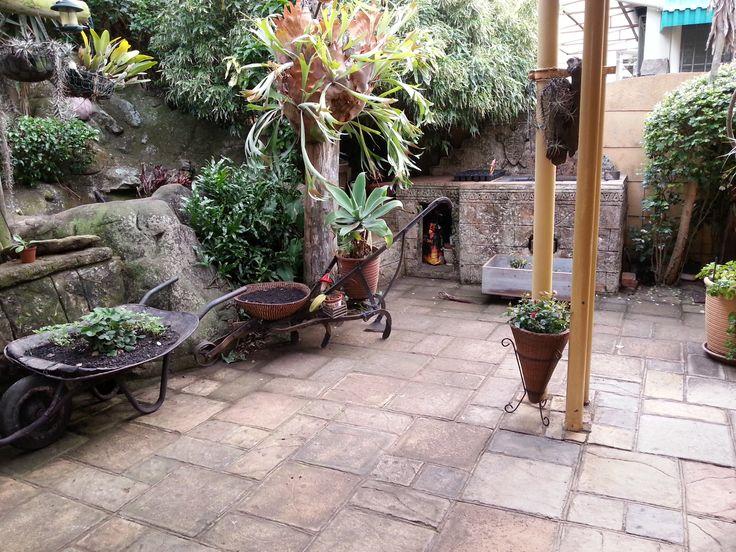 old farm garden