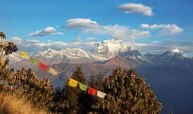Nepal glänzt durch seine beeindruckende Landschaft, dem Himalaya-Gebirge. Berge, Schnee und traditionsverbundene Menschen - das alles und noch viel mehr ist Nepal.