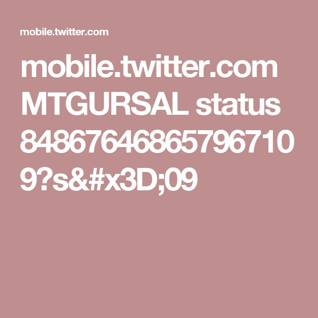 mobile.twitter.com MTGURSAL status 848676468657967109?s=09