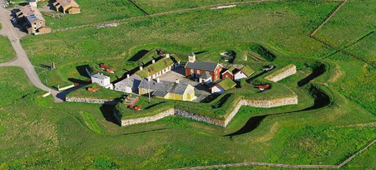 Vardøhus Fortress, a star fort in Norway