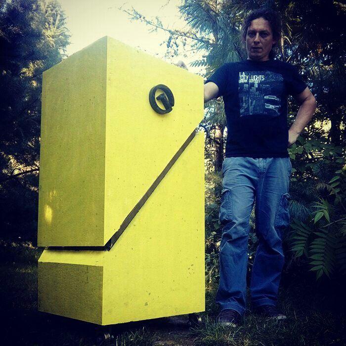 Et voilà! Polski Beehappy. greenstreethouse.pl Beehappy - modern beehive. Tomasz Waśkiewicz.