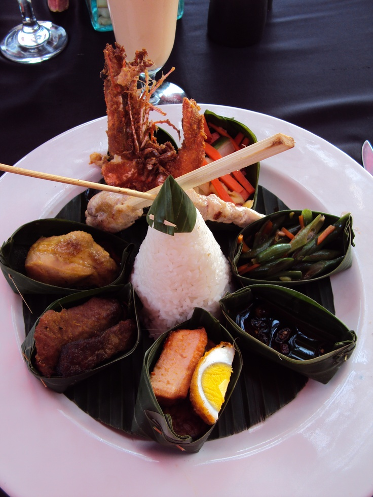 @OTT - Online Travel Training World Food.   First meal in Bali, Indonesia :)