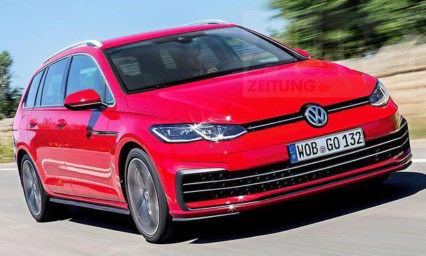 Vw Golf 8 Variant 2019 Volkswagengolfvariant Volkswagen Golf Vw Golf Variant Volkswagen