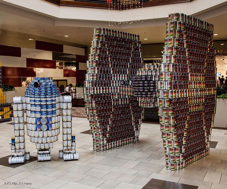 Winners Of The International 2013 2014 Canstruction Competition