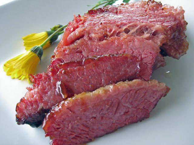 Susi's Kochen Und Backen Adventures: Glazed Corned Beef