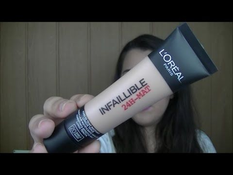 Review- Base INFALIBLE 24h de LOREAL | Makeupbyainster