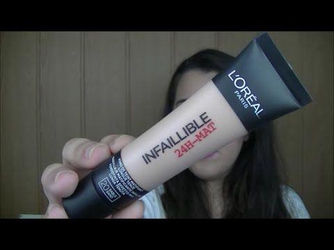 Review- Base INFALIBLE 24h de LOREAL | Makeupbyainster