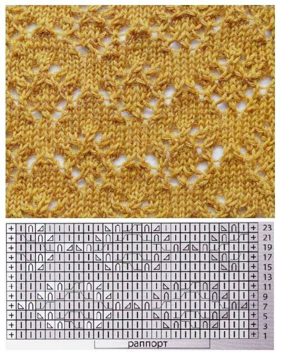 don't knit empty squares ...