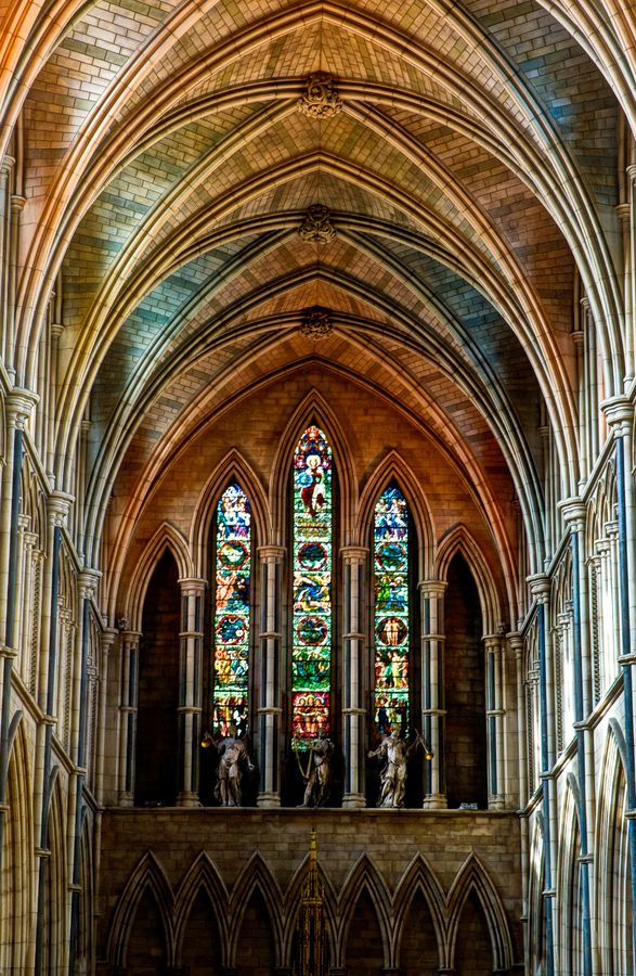 Southwark Cathedral. I performed one of the most emotionally powerful performances of my lifetime as a musician in this building.