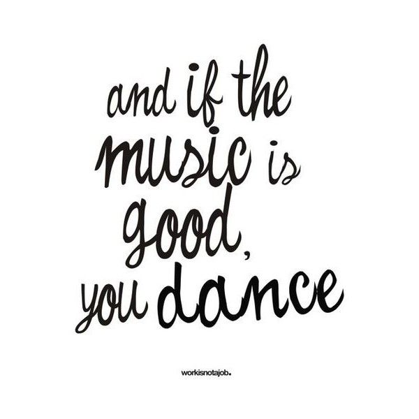 of course you dance//
