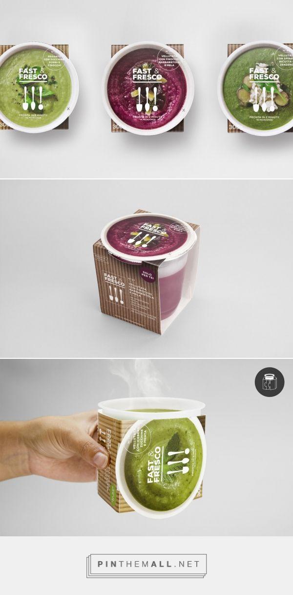 Fast&Fresco Take-away packaging design by Auge Design - http://www.packagingoftheworld.com/2017/09/fast-take-away.html