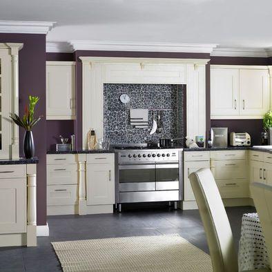 25 best ideas about purple kitchen on pinterest purple for Aubergine kitchen cabinets
