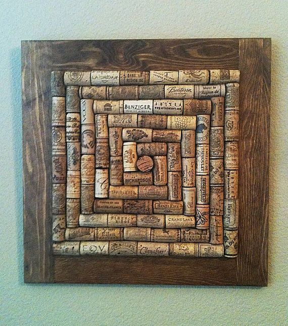 Wine Cork Board medium stain - FREE SHIPPING                                                                                                                                                                                 More