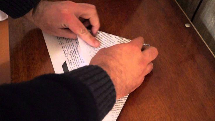 Как сделать бумажный самолетик из бумаги или газеты