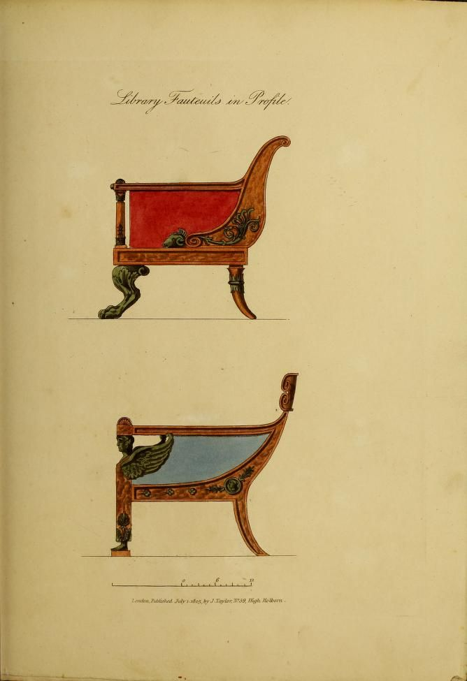 Collection of designs for household furniture a...