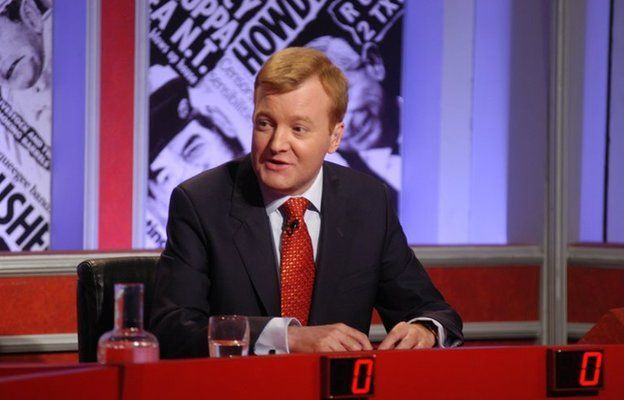 Charles Kennedy presenting Have I got News for You in 2002