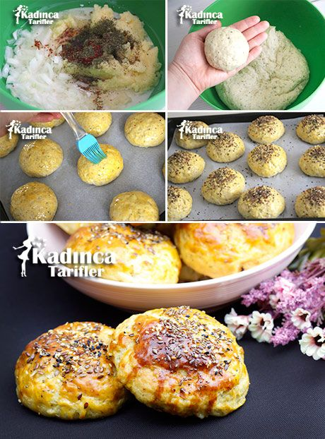 Patatesli Baharatlı Ekmek Tarifi