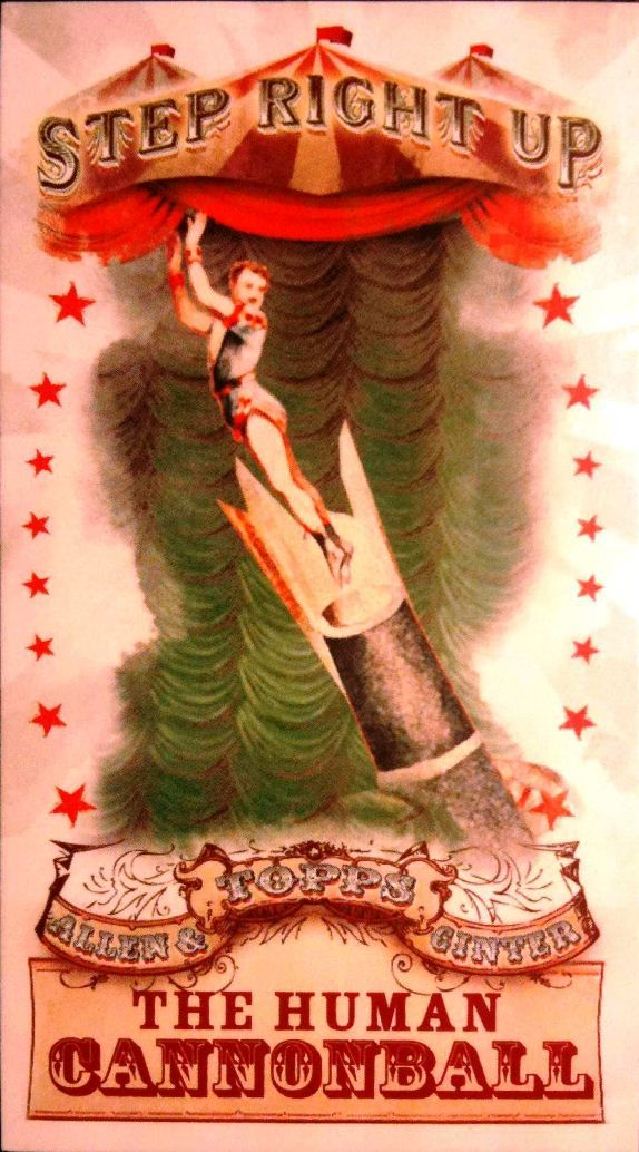 Vintage Circus Poster, Human Cannonball Poster | Zazzle.ca |Human Cannonball Circus Poster